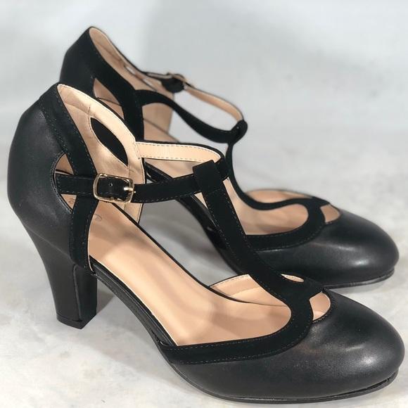 b350bfb2b77c Journee Collection Olina Women s Pumps Heels NEW
